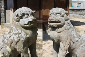 八幡神社と小学校7
