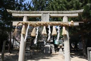 八幡神社と小学校8