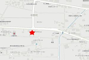 Cafe nAnnan地図