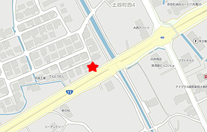 軌跡丸亀店地図