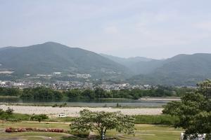 朝の吉野川2