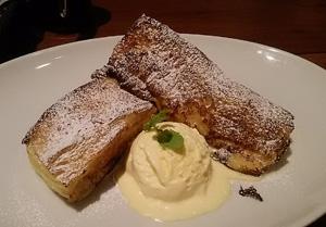 三条某Cafeのフレンチトースト