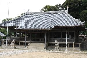 宝生寺隣春日神社2