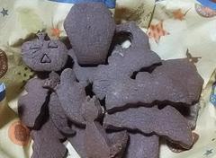 16ハロウィンクッキー