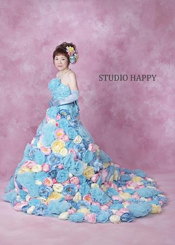 お花のドレス2