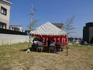 関空プレミアムガ-デンヒルズの地鎮祭001