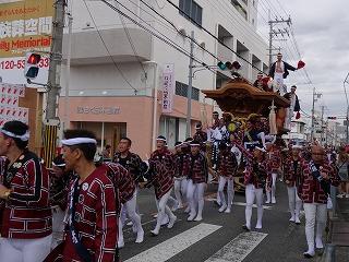 ◎最高!!泉州のだんじり祭りスタ-ト!!