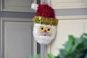 Door Handle Santa Clause