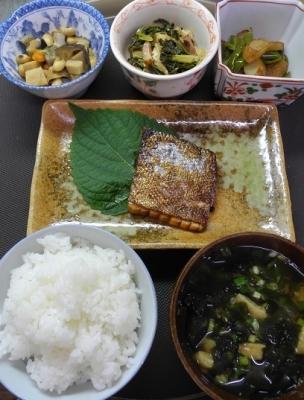 20161029久々の和食のご注文