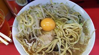 20160514ラーメン二郎三田本店(その11)