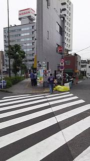 20160528ラーメン二郎三田本店(その1)