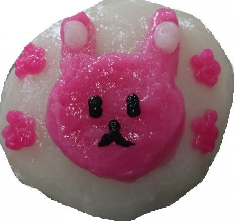 ピンクうさぎミニ
