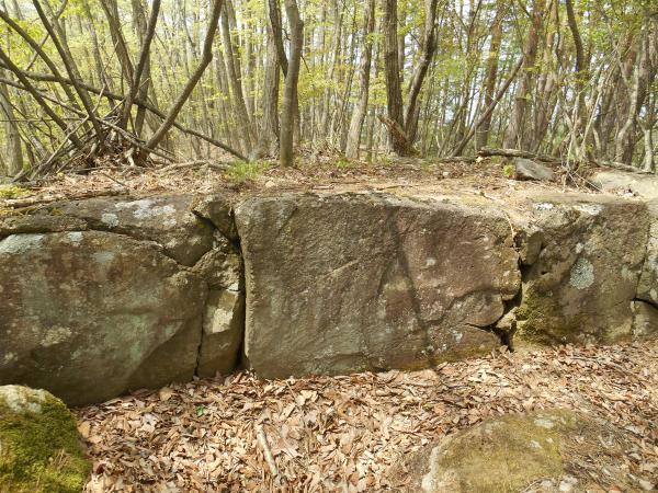 北条時代の石積み