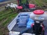 有機肥料散布