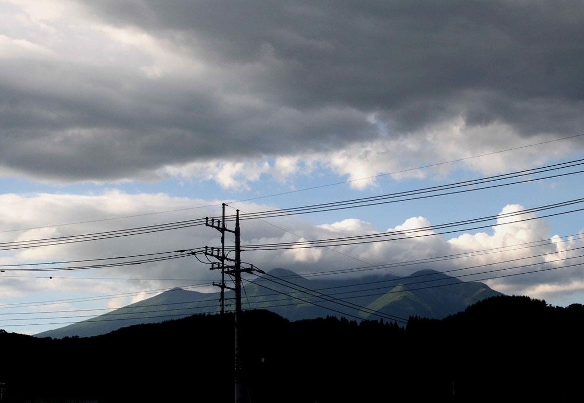 八ヶ岳上層の雲