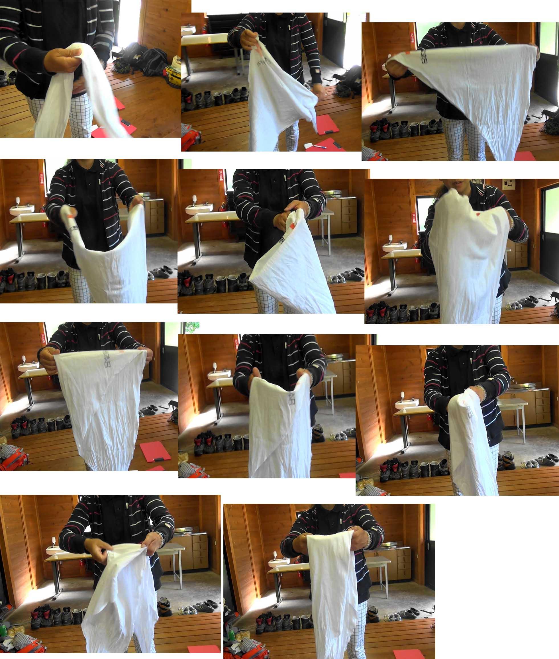 三角巾の活用(1)