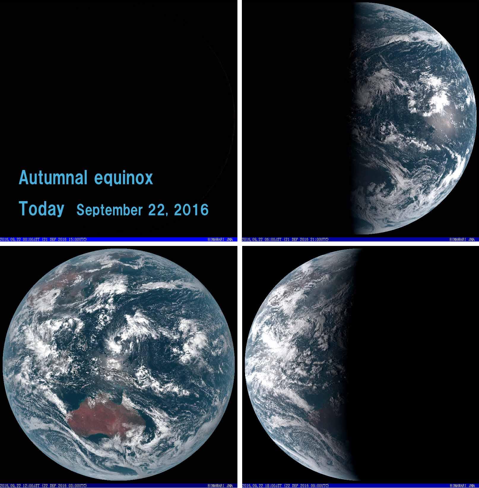 2016年9月22日 可視全球模様