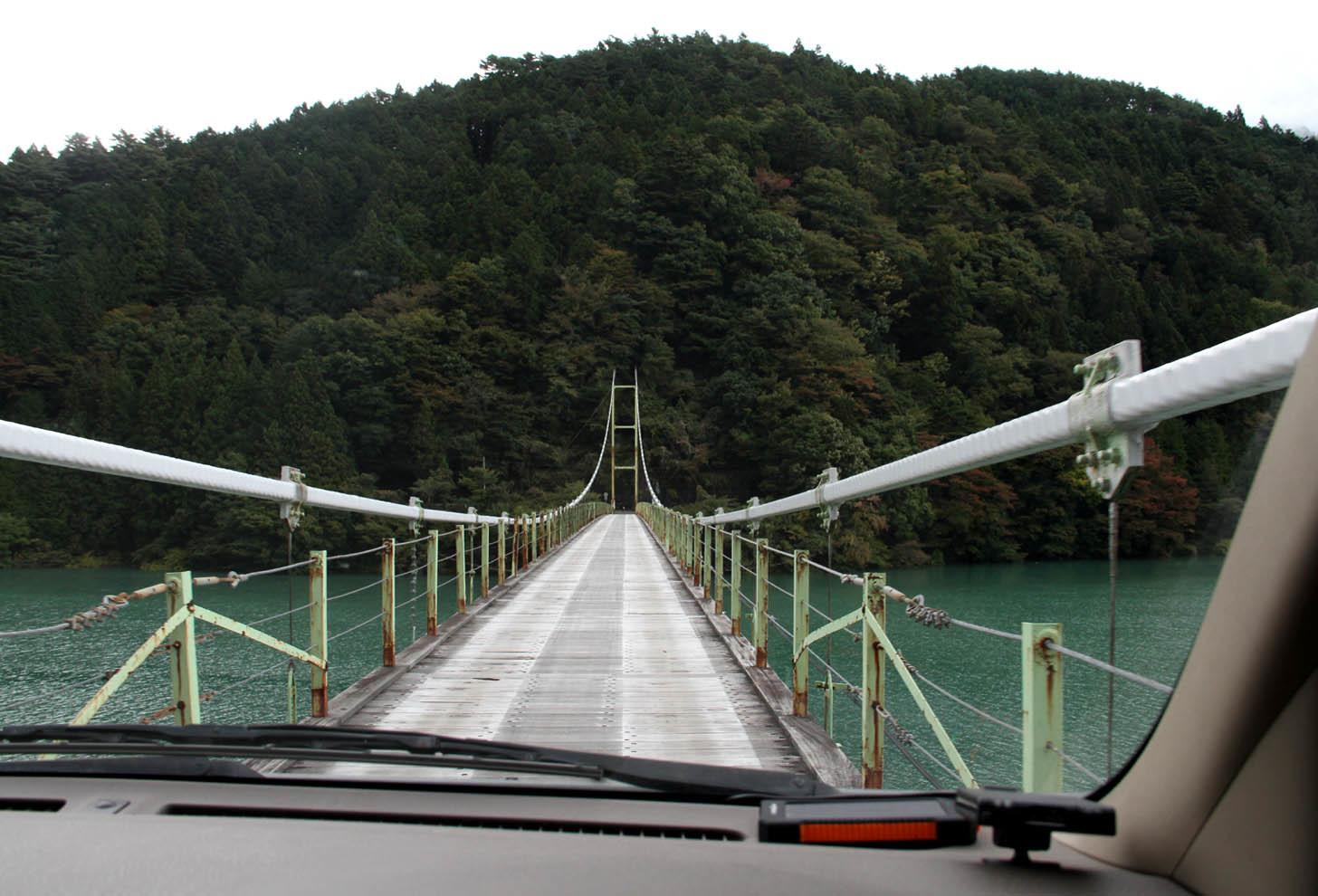 立派な?吊橋(3)