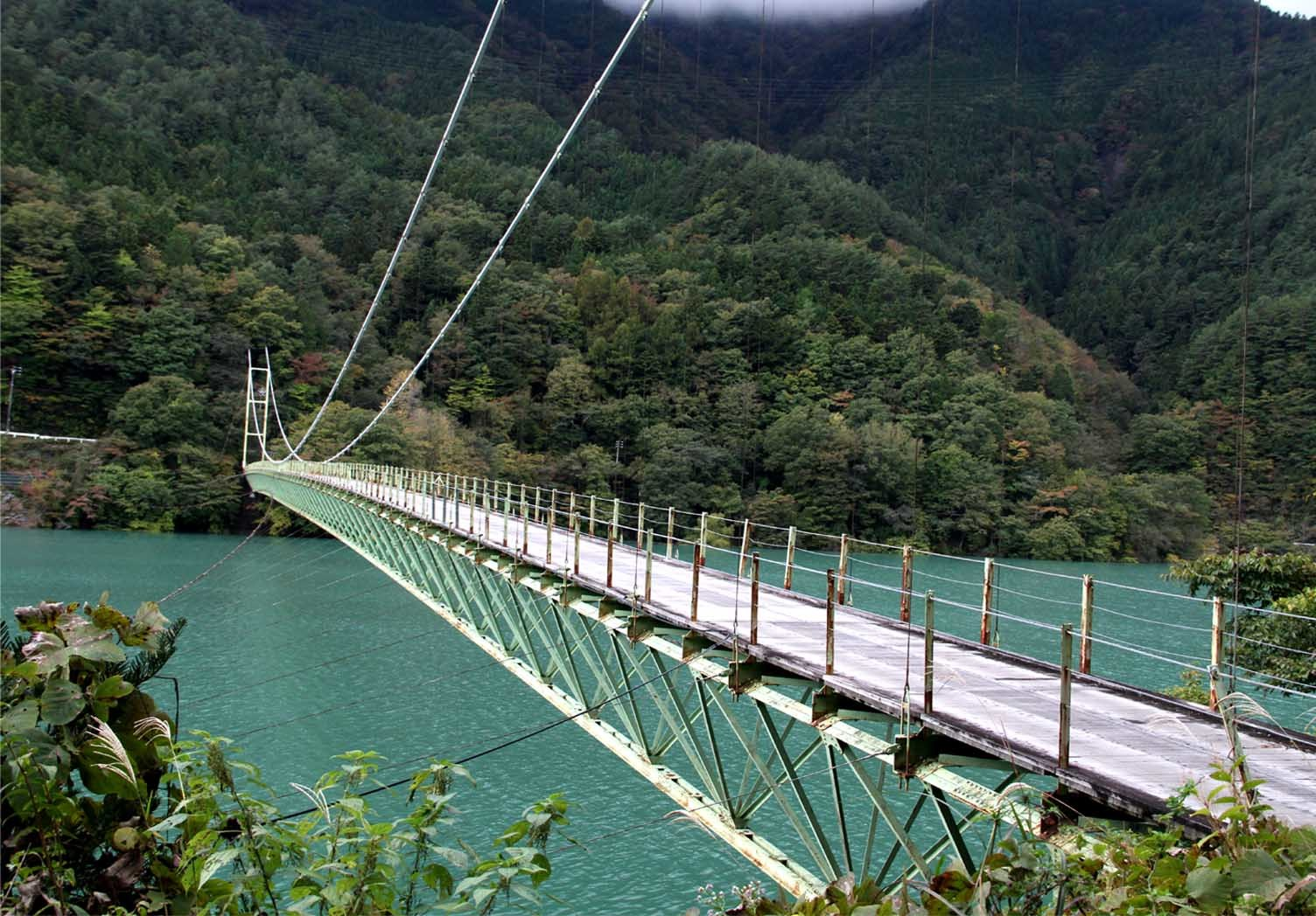立派な?吊橋(4)