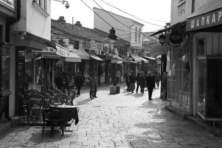 スコピエ旧市街