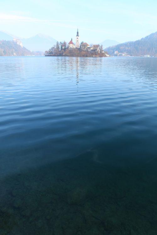 ブレッド湖ボート