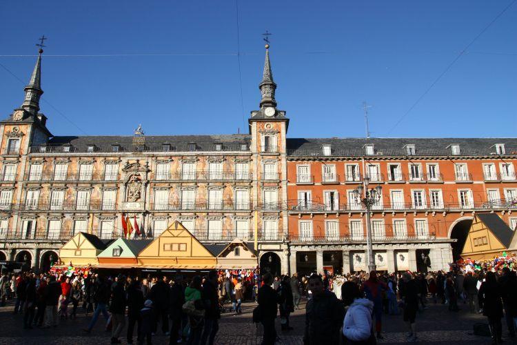 マドリッドクリスマスマーケット