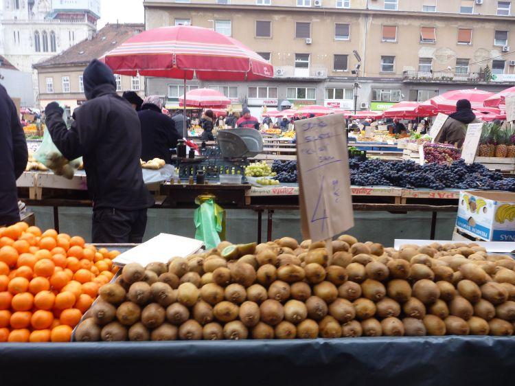 ザグレブ市場