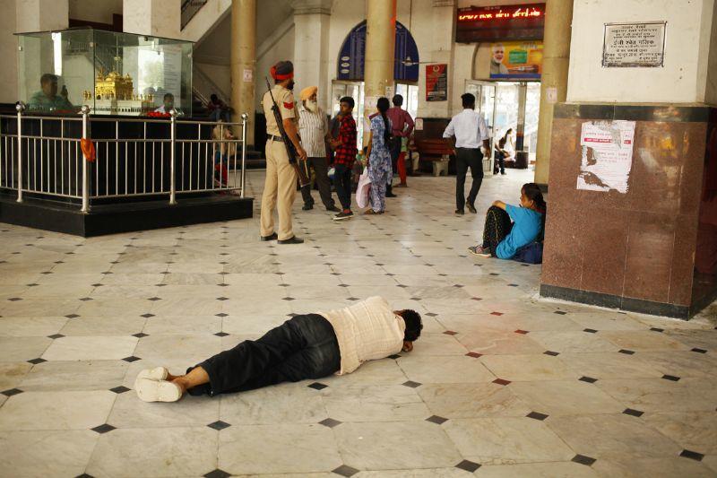 インド列車の旅