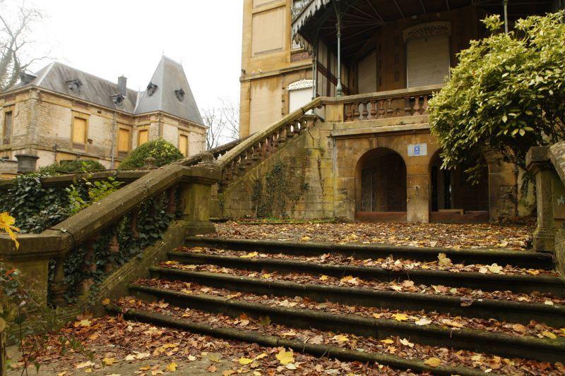 ヨーロッパ石畳秋