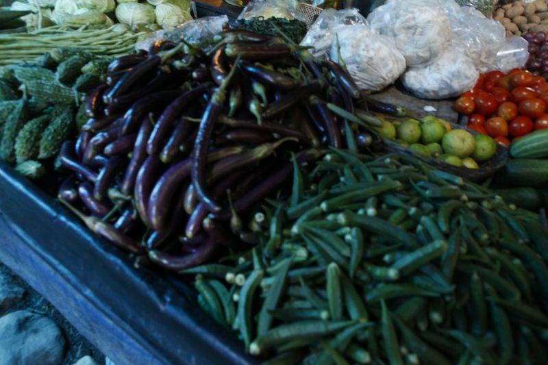 ブータン市場