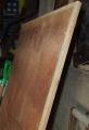 板の材料、コンパネ。納屋の籾をためるために使っていたもの