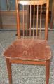 完成した椅子、カバーはまだ。