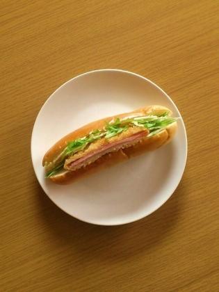 チーズハムカツドッグ
