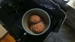 牛豚合い挽きハンバーグ3