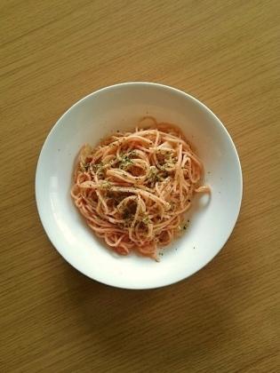 明太子のスパゲッティ1