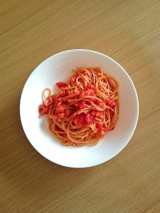 トマトソーススパゲッティ1