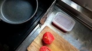 トマトソーススパゲッティ2