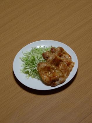 豚ロース生姜焼き