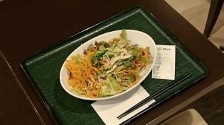 はなまるうどんコクうまサラダうどん(小)野菜増量