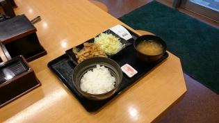 吉野家生姜焼定食(並)(軽)3
