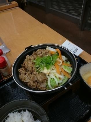 吉野家牛すき鍋膳(並)(軽)2