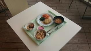 OWL(A定食豆腐ハンバーグ、(小鉢)かぶと肉団子の味噌煮)7