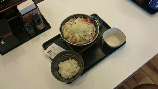 吉野家、地域限定北海道味噌鍋膳