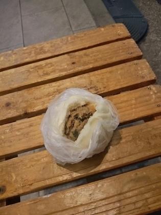 横浜中華街江戸清りーろん豚まん350円4
