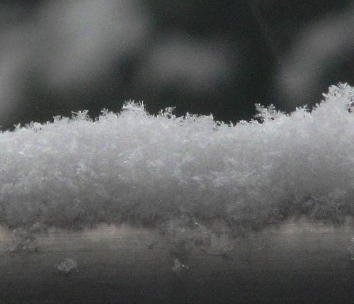 s-手すりに積もった雪