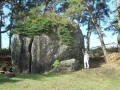 種差海岸の巨石