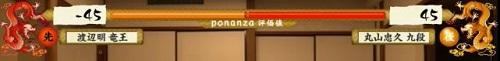 竜王戦第2局1日目Ponanza評価値
