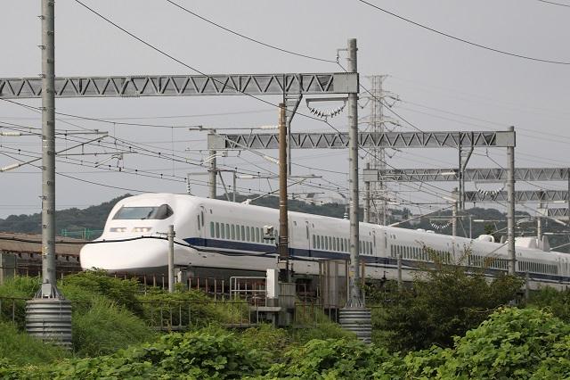 新幹線(下り)