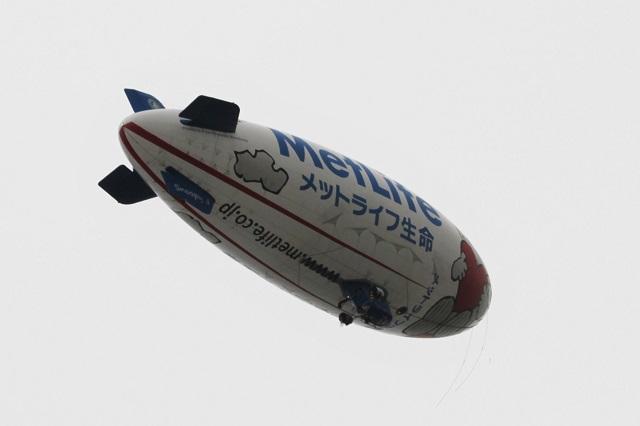 飛行船「スヌーピーJ号」