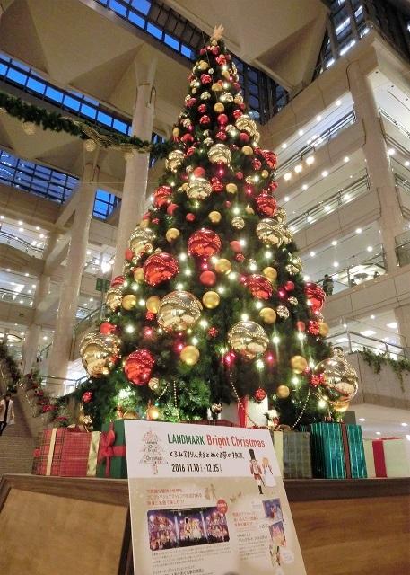 横浜ランドマークプラザ クリスマスツリー